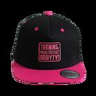 Czapka Snapback, czapka z daszkiem, czapka TMZO, czapeczka z daszkiem, różowa czapka Czapka Trening Musi Zostać Odbyty!